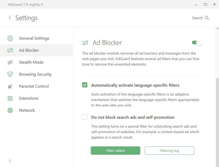 Setting_Adguard Premium
